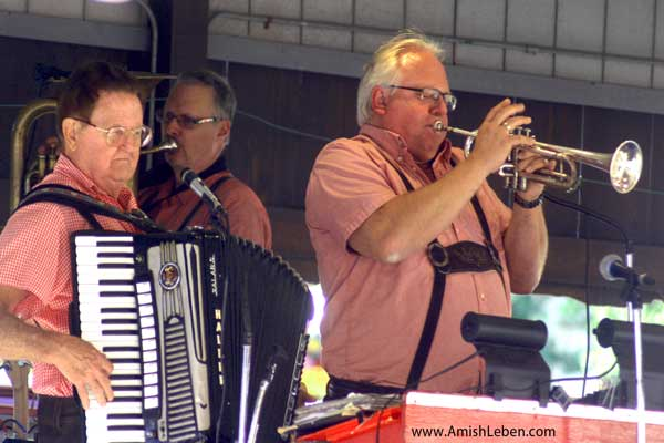 Polka Music Masters at the Swiss Festival Sugarcreek, Ohio